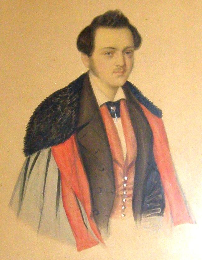 Wilhelm Buechner als Student