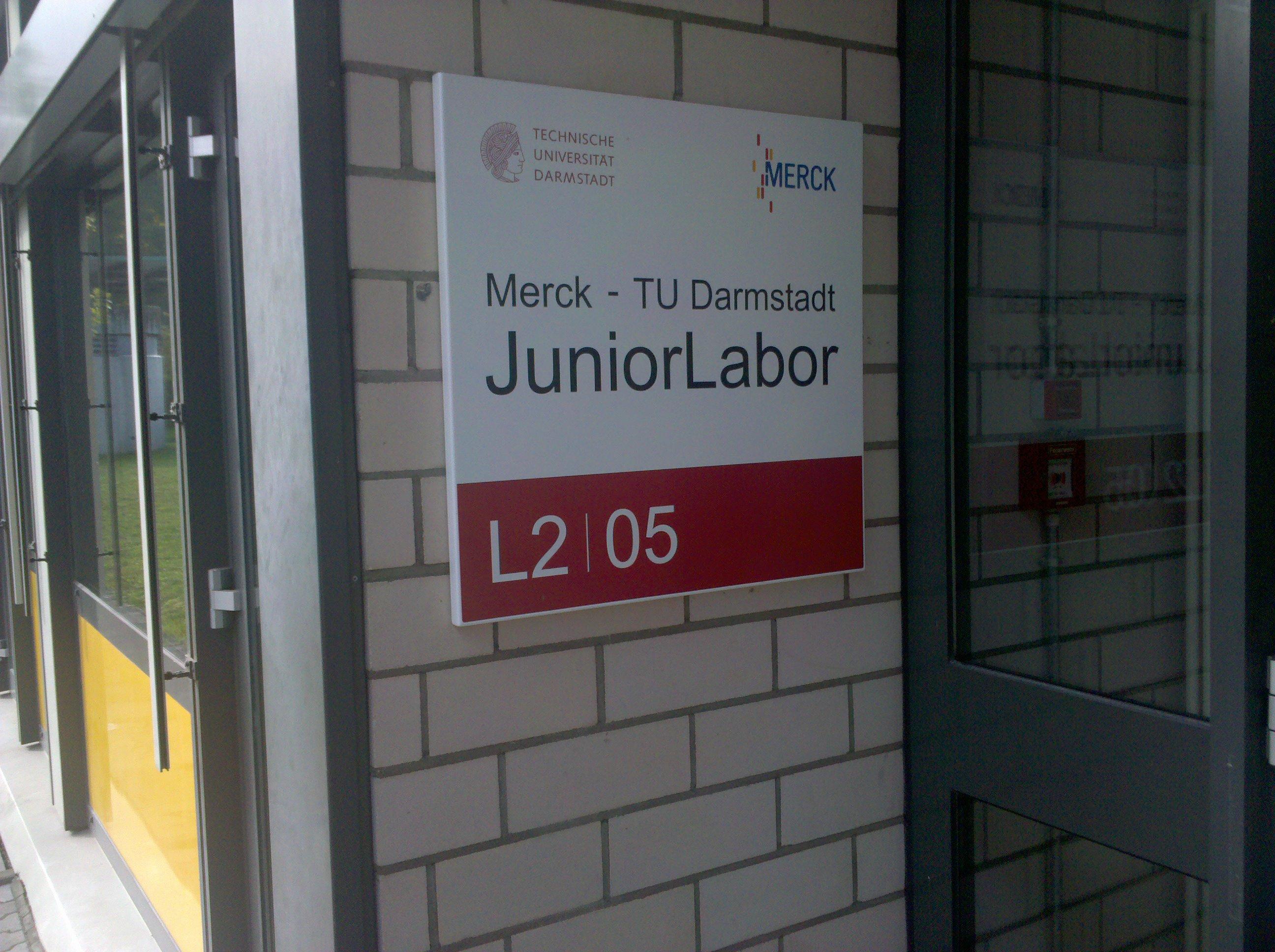 Tuerschild_Juniorlabor