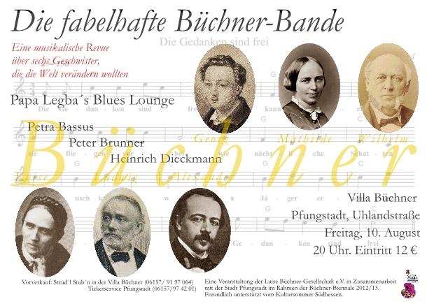 Plakat Buechnerbande Pfungstadt