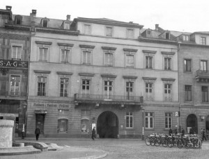 Ludwigsplatz, Haus Böttinger um 1935
