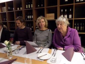 Essen mit Vorstand und Jury am Vorabend